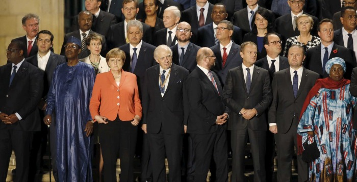 European and African leaders in search of common grounds on immigration policy